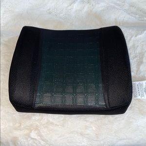 Samsonite Memory Foam Cooling Gel Lumbar Cushion